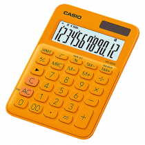Bordsräknare Casio MS-20UC orange